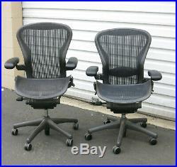 Henry Miller Aeron Fully Adjustible Ergonomic Desk Chair LOC San Jose, CA