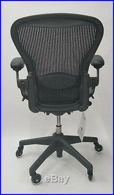 Herman Miller AERON Chairs Fully Adjustable Model Size C / Rollerblade casters