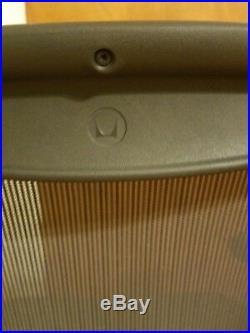 Herman Miller Aeron 2018 REMASTERED Chair. Size B. Fully adjustable