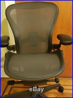 Herman Miller Aeron 2019 REMASTERED Chair. Size B. Fully adjustable