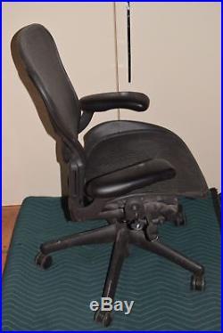 ^^ Herman Miller Aeron Adjustable Black Medium Chair Parts/repair (ar34)