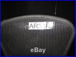 ^^ Herman Miller Aeron Adjustable Black Medium Chair Parts/repair (ar38)
