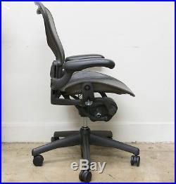 Herman Miller Aeron B Chair Fully Loaded JADE GREEN MESH 2000 AE123AWBAJ