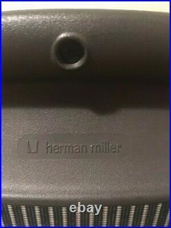 Herman Miller Aeron B Fully Adjustable LIMITED EDITION Teal/Graphite