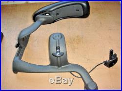 Herman Miller Aeron B Right and Left Arm Assemblys 177702 LH 177701 RH