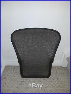 Herman Miller Aeron Backrest Size B, With Tuxedo Pattern