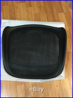 Herman Miller Aeron C 3D01 Seat Frame and Mesh Graphite Black