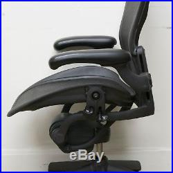 Herman Miller Aeron C Chair Fully Loaded Carbon Black 2002 AE123AWCAJ EXTE