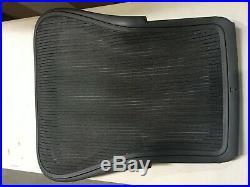Herman Miller Aeron Chair Backrest 3D01 Graphite Large Size C Classic Carbon OEM