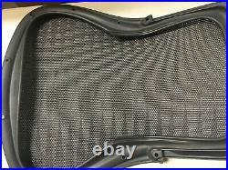 Herman Miller Aeron Chair Backrest 4M01 Graphite Large Size C Tuxedo Grey Black
