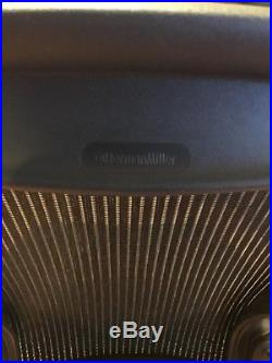 Herman Miller Aeron Chair C Fully Loaded WithLumbar PICK UP/Dlvry within 25 miles
