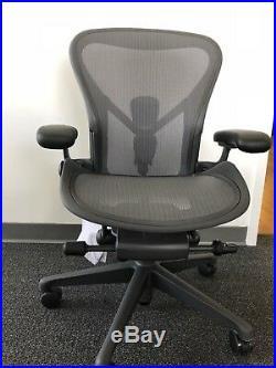 Herman Miller Aeron Chair Floor Models C size Office Designs Outlet