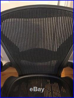 Herman Miller Aeron Chair Fully Adjustable Size B, Lumbar