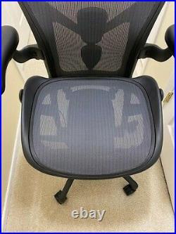 Herman Miller Aeron Chair Graphite Remastered Adjustable Posturefit SL