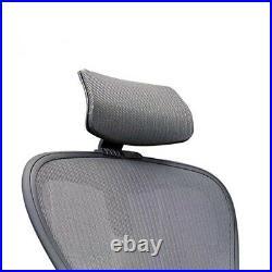 Herman Miller Aeron Chair Headrest New Black Color Fits A B C Size