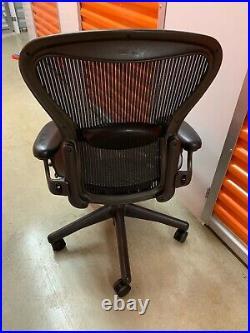 Herman Miller Aeron Chair Medium Size B fully adjustable lumbar