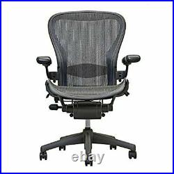 Herman Miller Aeron Chair Open Box Size B Fully Loaded (Black Chair) brand new
