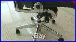Herman Miller Aeron Chair Polished Aluminum Size C Tilt Adjustmant Plus Xtras