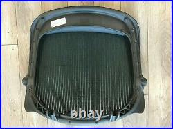 Herman Miller Aeron Chair Replacement Seat Pan Graphite Medium Size B frame GRN