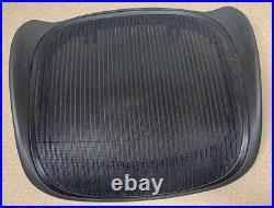 Herman Miller Aeron Chair SEAT FRAME & MESH Graphite Size B Medium