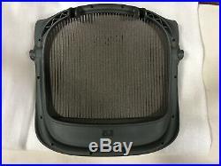 Herman Miller Aeron Chair Seat Pan 3D04 Graphite Large Size C Soapstone Mesh OEM