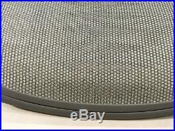 Herman Miller Aeron Chair Seat Pan 4Q01 Titanium Medium Size B Tuxedo White Gold