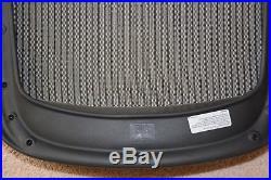 Herman Miller Aeron Chair Seat Pan Mesh Replacement Size B Medium Black Graphite