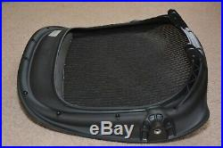 Herman Miller Aeron Chair Seat Pan Mesh Replacement Size C Large Black Graphite