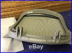 Herman Miller Aeron Chair Seat Pan Titanium Medium Size B Classic Zinc OEM