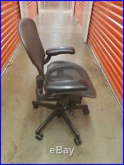 Herman Miller Aeron Chair Size A basic