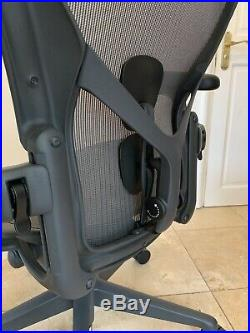 Herman Miller Aeron Chair Size B 2019 Model Remastered New RRP £1300