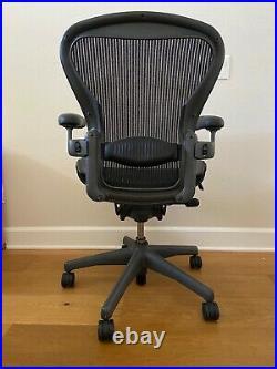 Herman Miller Aeron Chair Size B Adjustable Office Seating Work/Desk Chair