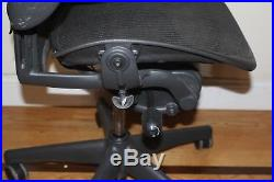 Herman Miller Aeron Chair, Size B, All Features, Plus Adjustable Lumbar Support