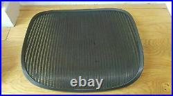 Herman Miller Aeron Chair Size B Black Replacement Seat Mesh