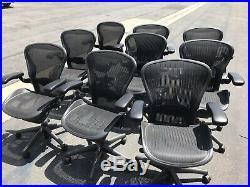Herman Miller Aeron Chair Size B Excellent Condition