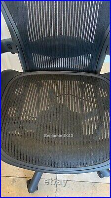 Herman Miller Aeron Chair Size B Excellent Condition Size B Fully Loaded