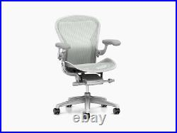 Herman Miller Aeron Chair Size B Floor Models Mineral Office Designs Outlet