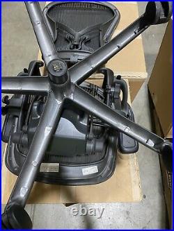Herman Miller Aeron Chair Size B Full Function with Standard Lumbar Refurbished