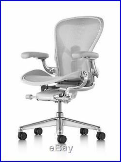 Herman Miller Aeron Chair Size B Fully Adjustable Posturefit Brand New
