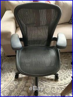 Herman Miller Aeron Chair Size B Fully Ergonomical