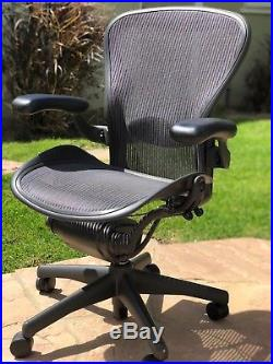 Herman Miller Aeron Chair Size B Fully Loaded