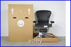 Herman Miller Aeron Chair Size B Fully Loaded (Black Chair)