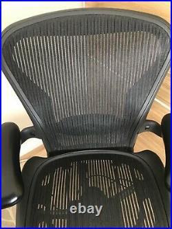 Herman Miller Aeron Chair Size B Fully Loaded Excellent Condition