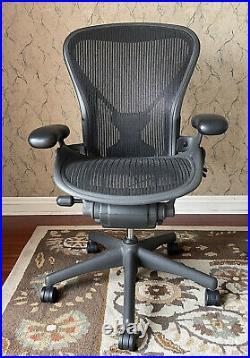Herman Miller Aeron Chair Size B-Fully Loaded-Posturefit
