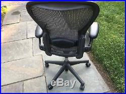 Herman Miller Aeron Chair Size B - Fully Loaded with Lumbar