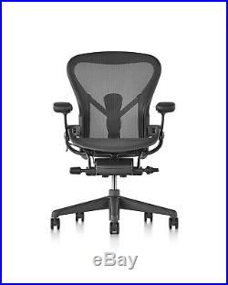 Herman Miller Aeron Chair, Size B, Graphite