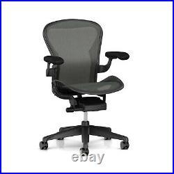 Herman Miller Aeron Chair Size B Medium Floor Model Office Designs Outlet