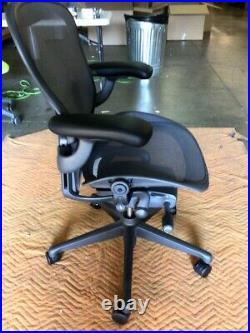 Herman Miller Aeron Chair Size B Medium Floor Models Office Designs Outlet