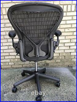 Herman Miller Aeron Chair Size B Posture Fit Local Delivery Possible