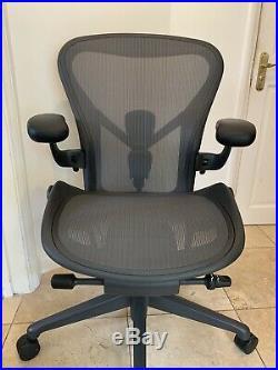 Herman Miller Aeron Chair Size B Remastered Graphite